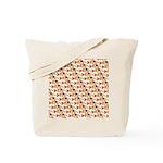 Koi Carp Pattern Tote Bag