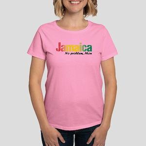 Jamaica No Problem tri Women's Dark T-Shirt