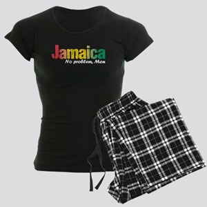 Jamaica No Problem tri Women's Dark Pajamas