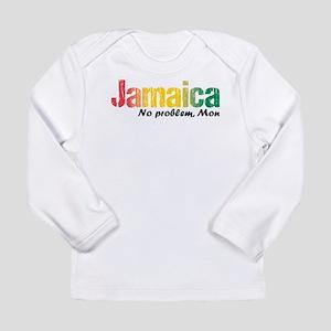 Jamaica No Problem tri Long Sleeve Infant T-Shirt