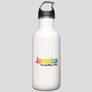 Jamaica No Problem tri Stainless Water Bottle 1.0L