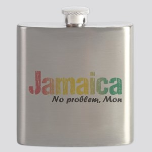 Jamaica No Problem tri Flask