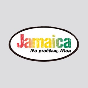 Jamaica No Problem tri Patch