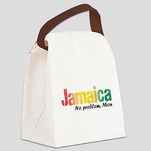Jamaica No Problem tri Canvas Lunch Bag