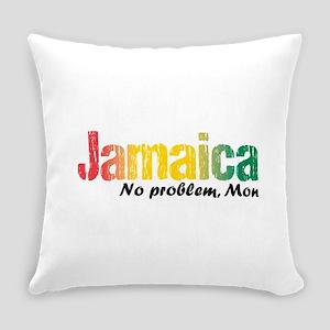 Jamaica No Problem Tri Everyday Pillow
