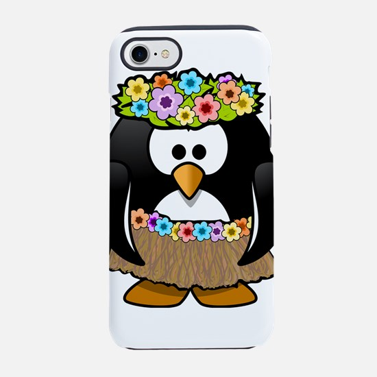 Hawaii Penguin iPhone 8/7 Tough Case