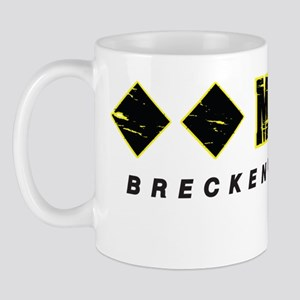 Ski Breckenridge, Mach One, Double Blac Mug