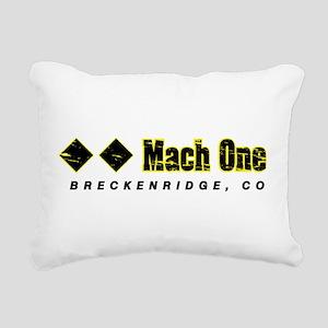Ski Breckenridge, Mach O Rectangular Canvas Pillow