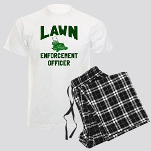 Lawn Enforcement Officer Men's Light Pajamas