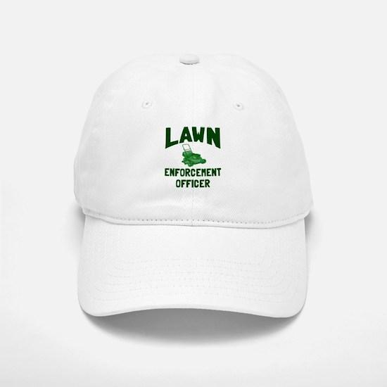 Lawn Enforcement Officer Baseball Baseball Cap