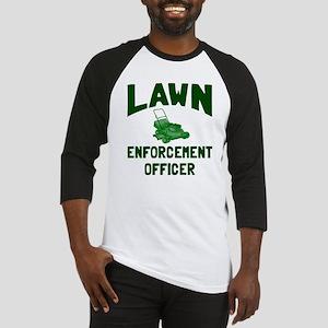 Lawn Enforcement Officer Baseball Jersey