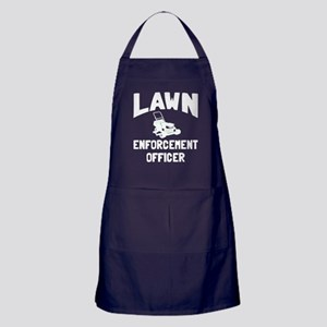 Lawn Enforcement Officer Apron (dark)