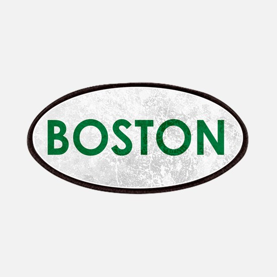 Boston Green White Stone Patch
