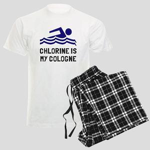 Chlorine is my perfume cologn Men's Light Pajamas