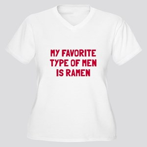 Favorite type of Women's Plus Size V-Neck T-Shirt