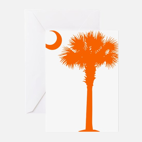 SC Flag (op) Greeting Cards