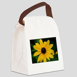 Black-Eyed Susan Canvas Lunch Bag