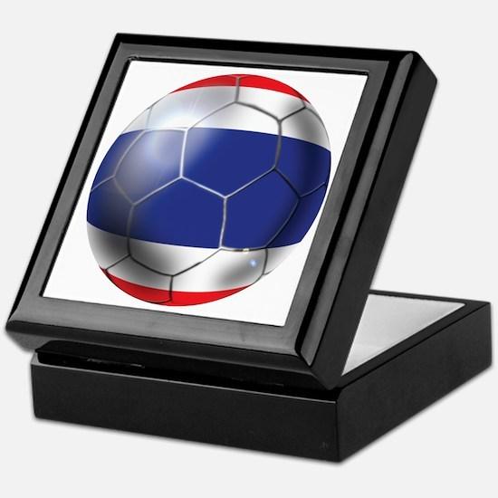 Thailand Soccer Ball Keepsake Box