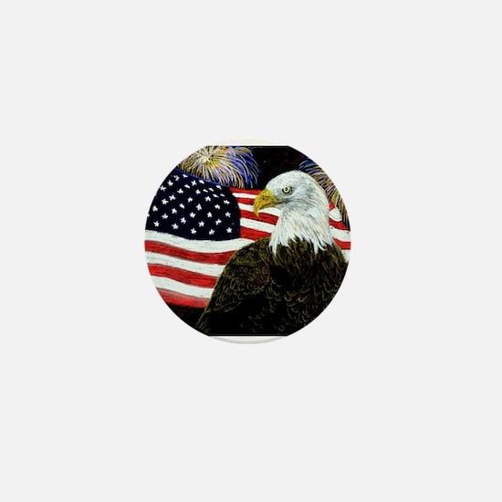 Eagle Pride Mini Button