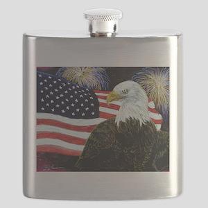 Eagle Pride Flask
