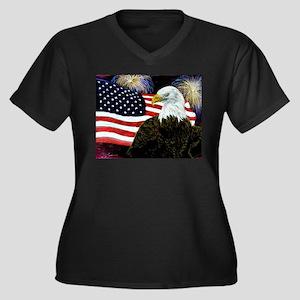 Eagle Pride Plus Size T-Shirt