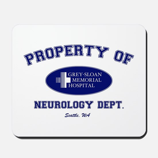 Greys Neuro Department Mousepad