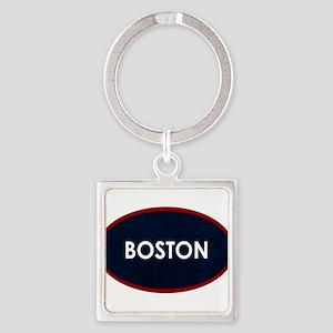 BOSTON Blue Stone Keychains