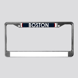 BOSTON Blue Stone License Plate Frame