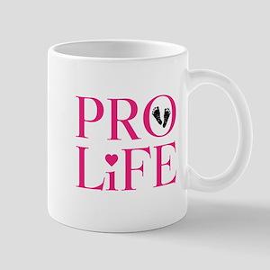Pro Life Pink Mugs