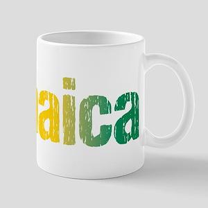 Jamaica Tri 11 oz Ceramic Mug