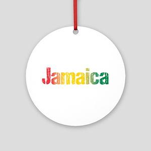 Jamaica Tri Round Ornament