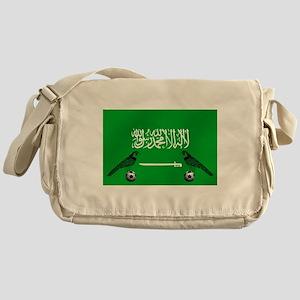 Saudi Arabia Football Flag Messenger Bag
