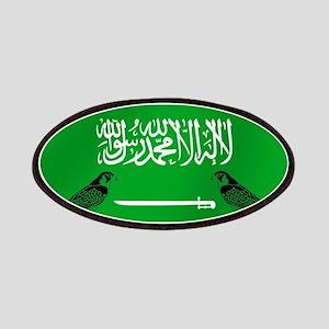 Saudi Arabia Football Flag Patch
