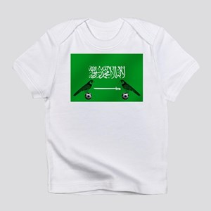 Saudi Arabia Football Flag Infant T-Shirt