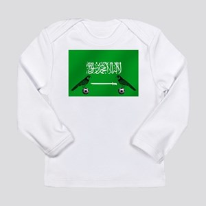 Saudi Arabia Football F Long Sleeve Infant T-Shirt