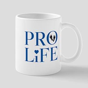 Pro Life Blue Mugs