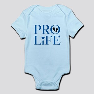 Pro Life Blue Body Suit