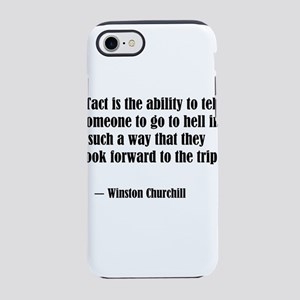 tact:Winston Churchhill iPhone 8/7 Tough Case
