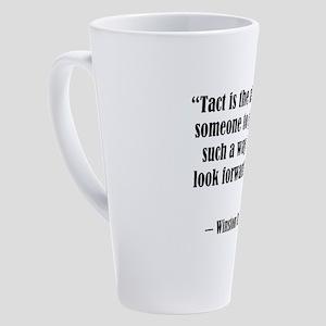 tact:Winston Churchhill 17 oz Latte Mug