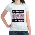 """Princess Babymouse"" Jr. Ringer T-shirt"