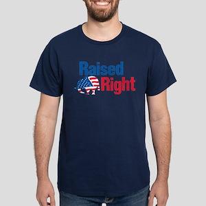 Raised Right Dark T-Shirt