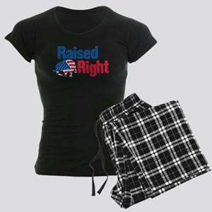 Raised Right Women's Dark Pajamas