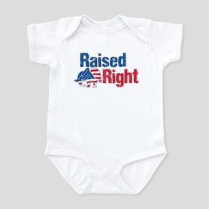 Raised Right Infant Bodysuit