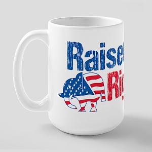 Raised Right Large Mug
