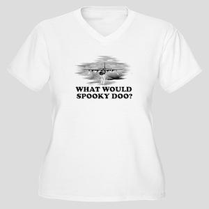 What would Spooky Doo?C-130 Women's Plus Size V-Ne
