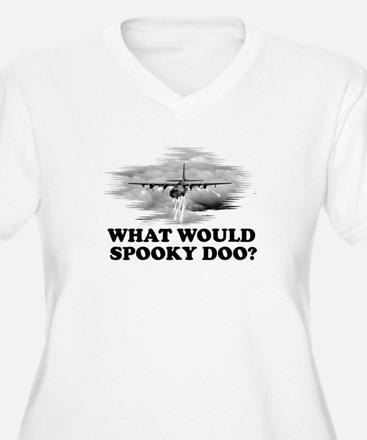 What would Spooky Doo?C-130 T-Shirt