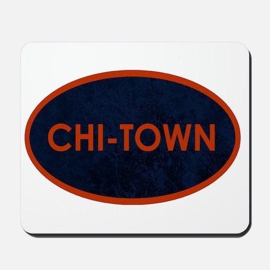 CHI TOWN Blue Stone Mousepad