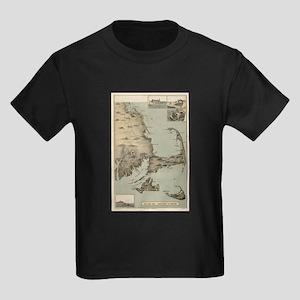 Vintage Map of Cape Cod (1885) T-Shirt