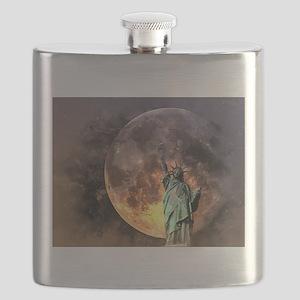 Liberty at moonlight Flask
