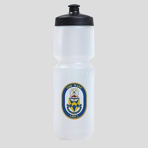 Uss Wasp Lhd-1 Sports Bottle